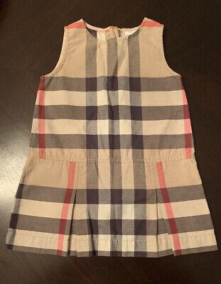 Burberry Baby Girl Cotton Dress 18 Months