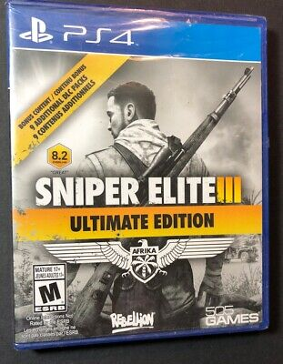 Sniper Elite 3 [ Ultimate Edition ] (PS4) NEW, usado segunda mano  Embacar hacia Mexico