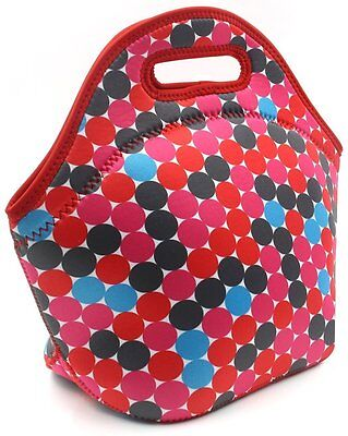 PAG Neoprene Lunch Tote Insulated Reusable Picnic Lunch Bags for Adults Kids