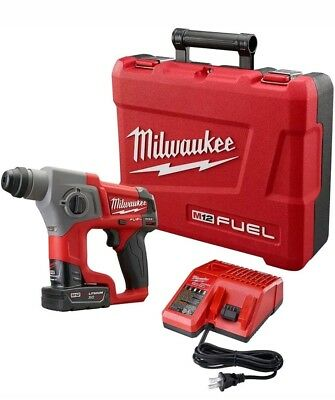 12v Cordless Lithium-ion 58 In. Sds-plus Rotary Hammer Kit Milwaukee