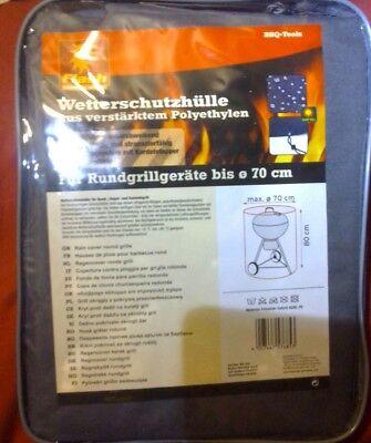 Schutzhülle für Grill Kugelgrill Abdeckhaube Holzkohlegrill Wetterschutz Flash - Holzkohle Kugelgrill Abdeckung