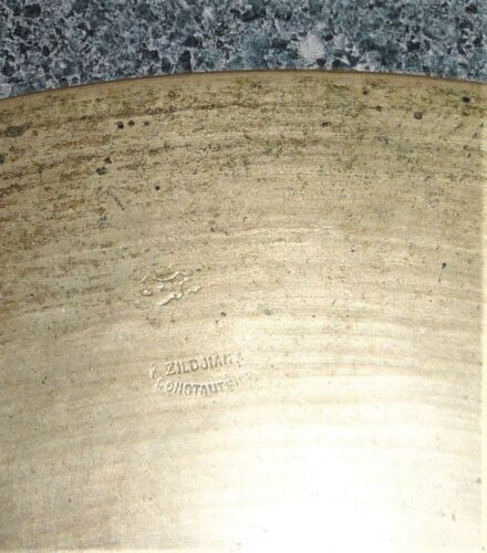"VINTAGE K ZILDJIAN CONSTANTINOPLE CYMBAL 14"" 1126g/2 lb. 7.6 oz Cymbal"