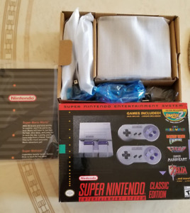 Like New Super NES Classic Edition