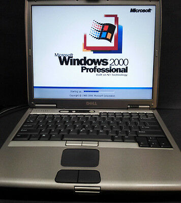 Dell 1200mhz Windows  95/98se/NT/2000/XP/Dos Ultra Compatibility laptop computer