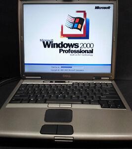 Dell 1200mhz Windows  95/98se/2000/XP/Dos Ultra Compatibility laptop computer-