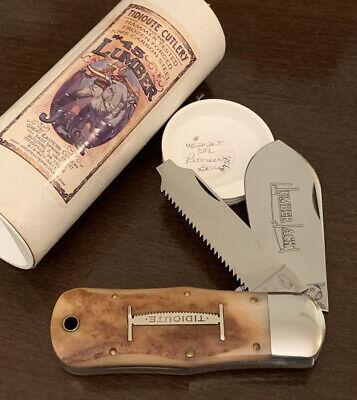 RARE GEC GREAT EASTERN CUTLERY TIDIOUTE LUMBERJACK 45 KNIFE 452112LT PIONEER