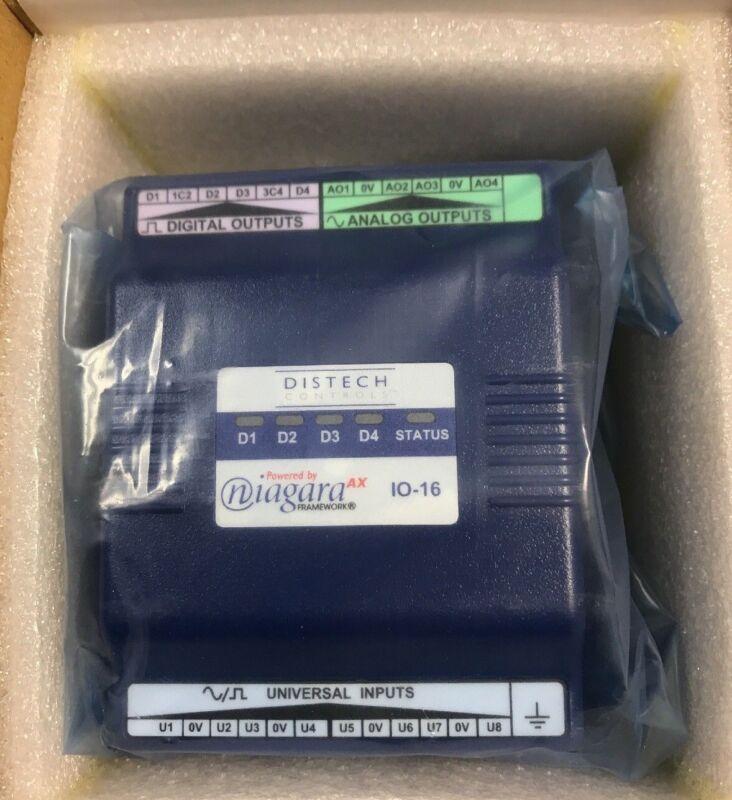 Distech Controls EC-Net AX, part number IO-16 -New in original wrap