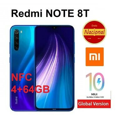 64GB Xiaomi Redmi Note 8T (con NFC) Version Global 48MP España Movil libre NUEVO