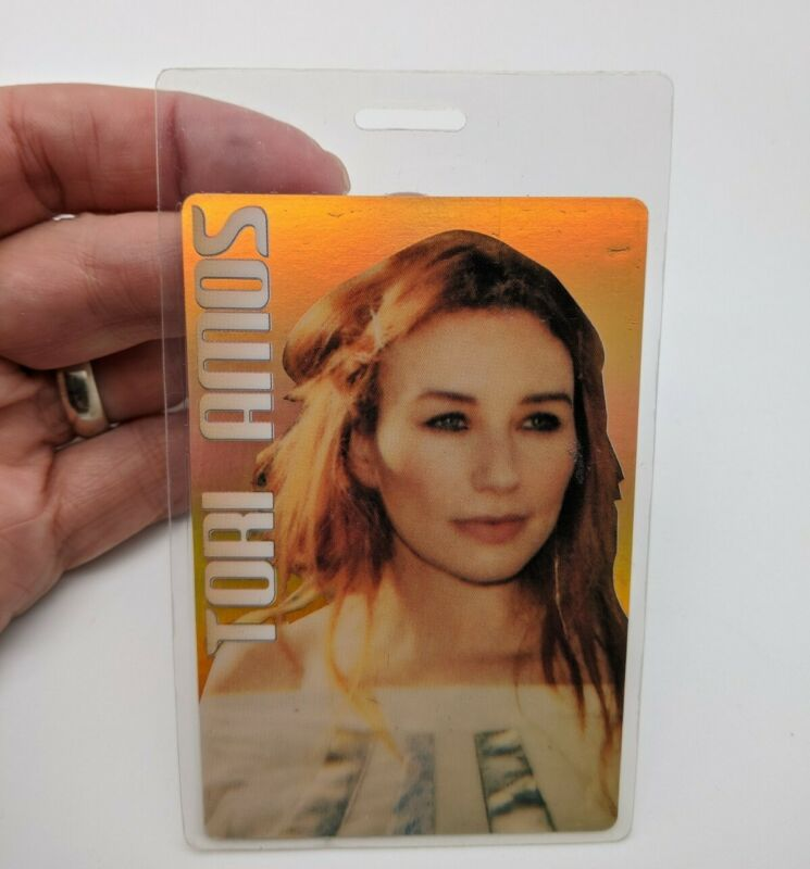 TORI AMOS Backstage Pass World Tour Concert Working Pass VIP Laminated