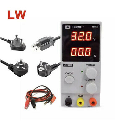 Dc Power Supply Lw-k605d Switching Adjustable Regulator Single Channel