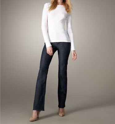 New $130 Christopher Blue Womens Marlow Jeans - Bootcut, Stretch Denim, Mid Rise Denim Cloth Womens Jeans