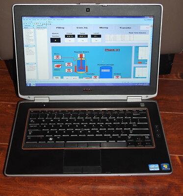 Plc Programming Hmi Microloglx Machine Laptop Rslogix Control Micro Trainer
