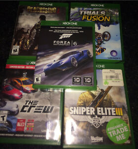Xbox One Games (available separately)