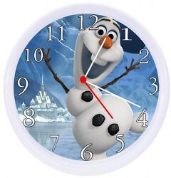 Olaf Frozen Movie Wall Clock