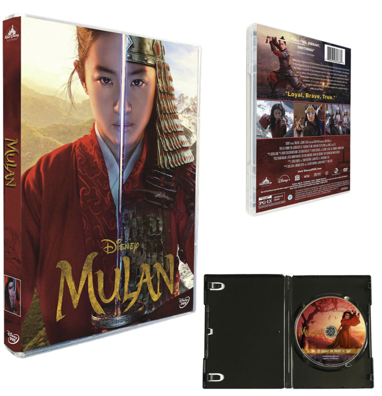 Newest Movie Mulan (1-Disc DVD, 2020) Live Action