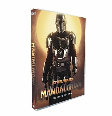 The Mandalorian DVD Season 1 ,8 Episodes (English Audio and Subtitles)