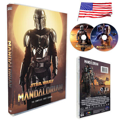 The Mandalorian Complete first Season 1 (English Audio and Subtitles) 2DVD USPS