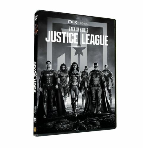 Zack Snyder´s Justice League: DVD 2021 (BRAND NEW) Ben Affleck,Henry Cavill