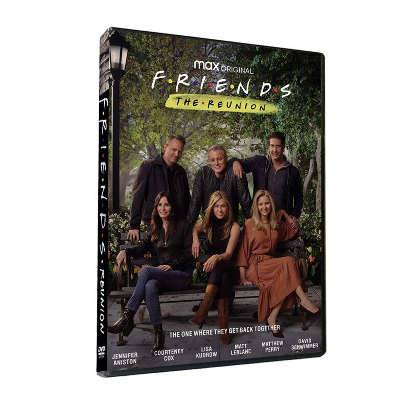NEW!! Friends: The Reunion [DVD] 1 disc 2021 US Shipping Standard Version