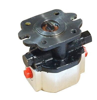 1- 2.1 Gpm Hydraulic Gear Pump 12 Tang Check Relief 2 4 Bolt Cbr-e2.1f