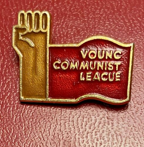 US USA American Young Communist League Youth Union lapel pin badge - ERROR