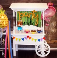 Sweet cart * Donut wall * Donut stands * Vintage Baby decor
