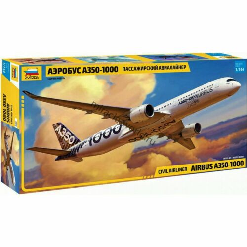 Zvezda 7020 A350-1000 (Airbus) /european civil airliner/ 1/144