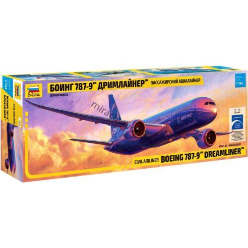 "Zvezda 7021 Boeing 787-9 / B789 ""Dreamliner"" /american civil airliner/ 1/144"
