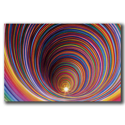 New Wormhole - Blacklight Custom Poster Print Art Decor T-467