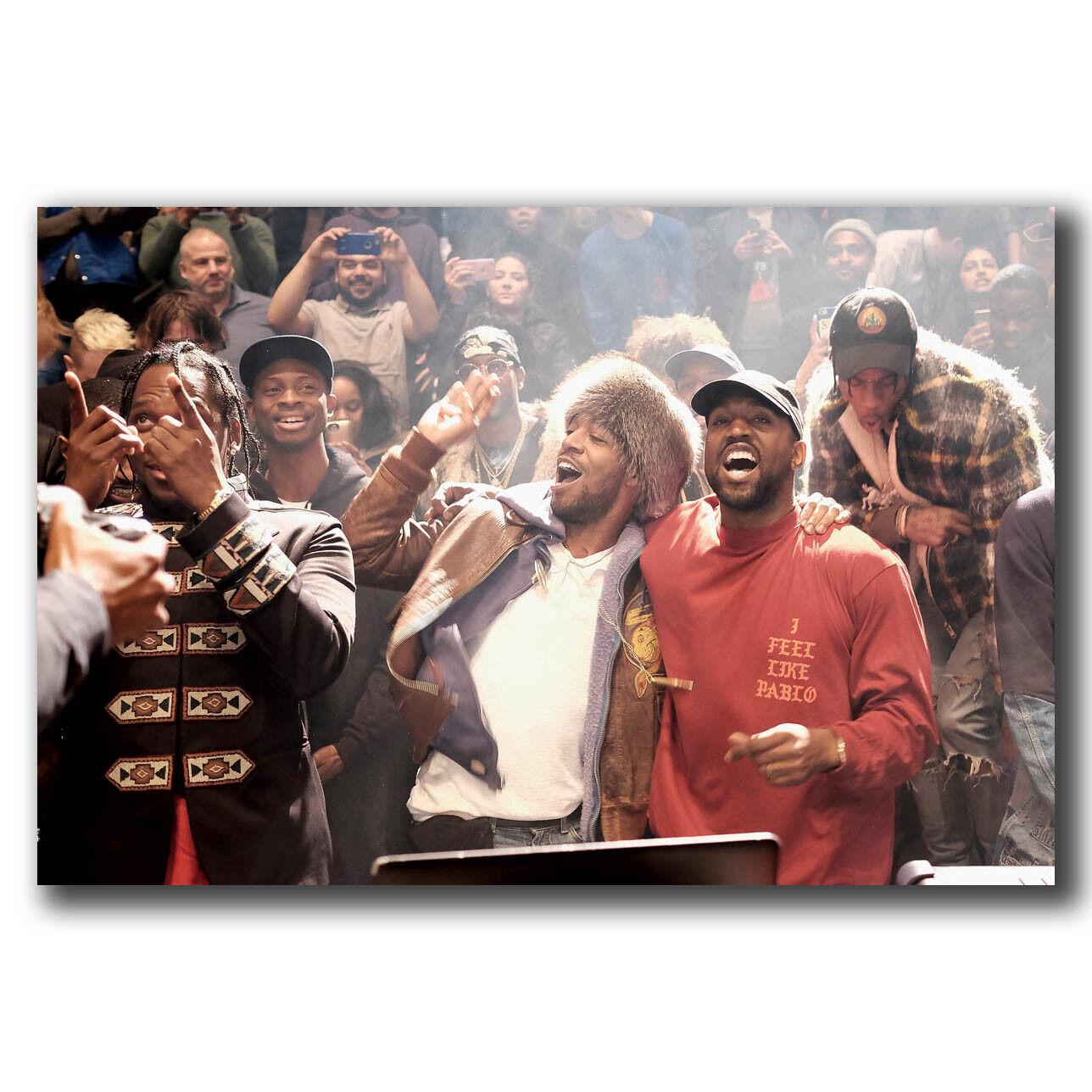 Art Kanye West The Life Of Pablo Rapper HipHop Super Star Poster 30 24x36 P374