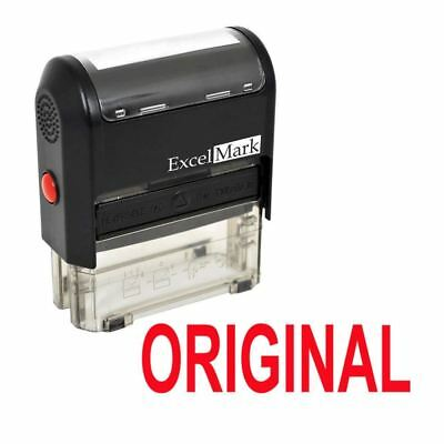 Original - Excelmark Self Inking Self Inking Rubber Stamp A1539 Red Ink