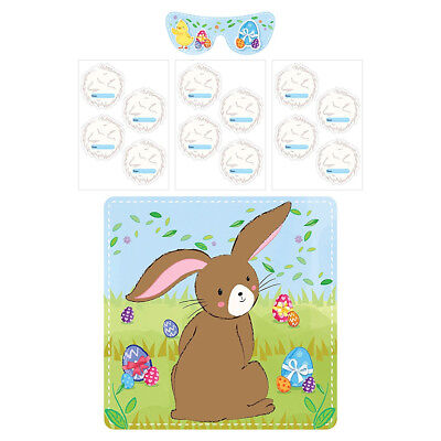 Pin The Tail On The Bunny - Easter Time - Pin the Tail on the Bunny Rabbit Easter Activity Game for Kids