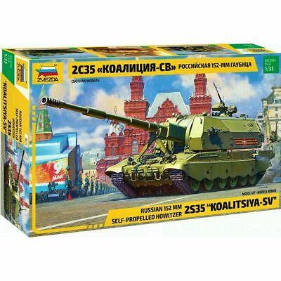 ZV3677 ZVEZDA 1/35 2S35 Koalitsiya-SV