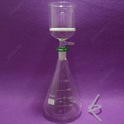 Filtration Seterlenmeyer Flaskfilter Funnel32000mllab Filter Set