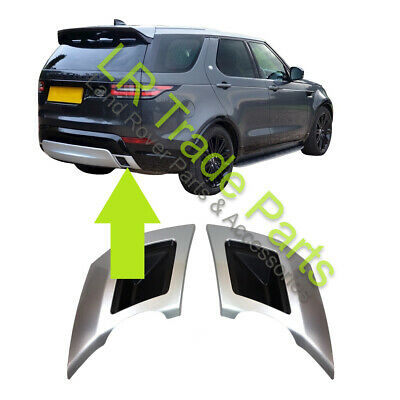 LAND ROVER DISCOVERY 5 HSE DYNAMIC STYLE REAR BUMPER TWIN EXHAUST DUMMY TRIMS