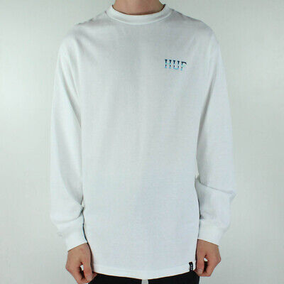HUF Ice Rose Classic Long Sleeve T-Shirt Tee in Black in Size S,M