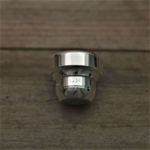 Curry 1.5C  Silver Trumpet Mouthpiece Top #MP157