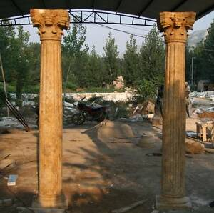 COLUMN  MARBLE  Stone ,Any size,  Corinthian, Ionic, Doric Set Applecross Melville Area Preview