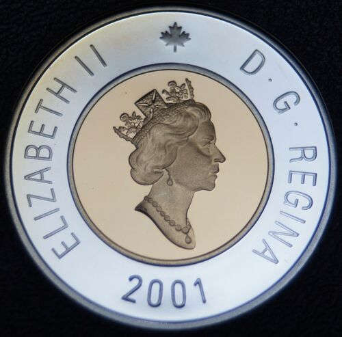 Canada 1999 Toonie $2 Dollar Proof Heavy Cameo