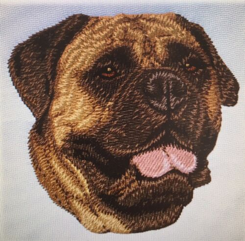 Bull Mastiff, Hand Towel, Embroidered, Custom, Personalized, Dog