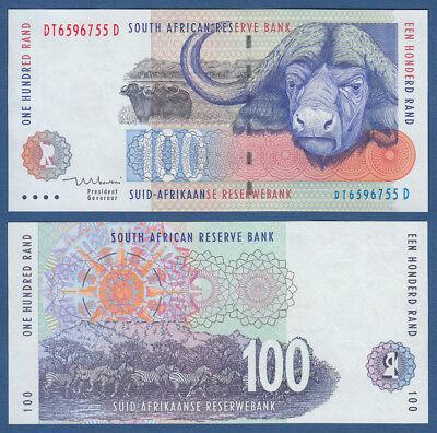 SÜDAFRIKA / SOUTH AFRICA 100 Rand (1999)  UNC P.126 b