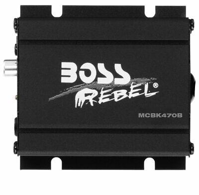 BOSS AUDIO MCBK470B Black 1000 watt Motorcycle ATV Sound Sys