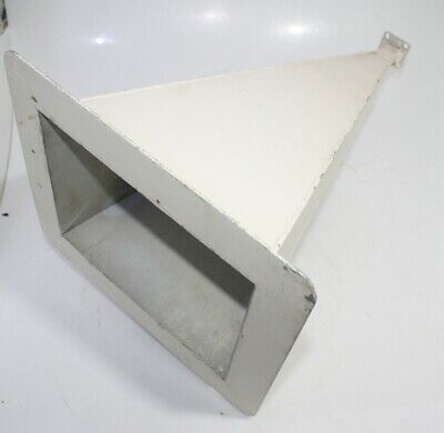 Rf Microwave Waveguide Wr90 8.2 12.4ghz Horn Antenna Length 49cm Used
