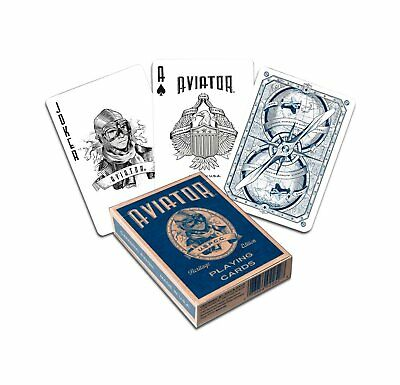 Aviator Heritage Playing Cards by Bicycle USPCC Collecters Discontinued (Hughes Aviator)
