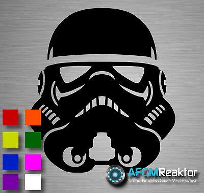 Aufkleber Sticker alternativ ähnlich STAR WARS STORMTROOPER (Star Wars Aufkleber)