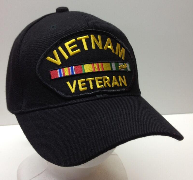 Vietnam War Veteran Service Ribbon Laos Hat Ball Baseball Cap Patch