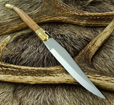 "8.9"" Traditional Laguiole Style Steak/Kitchen Knife w/ Olive Wood Handle New(801"
