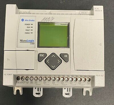 Micrologix 1100 Programmable Controllers 1763-l16bwa