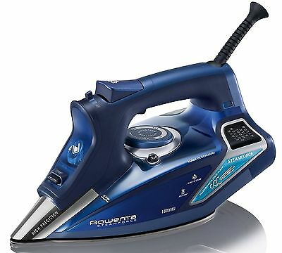 Rowenta SteamForce 1800W Professional Steam Iron Stainless Steel Soleplate NEW