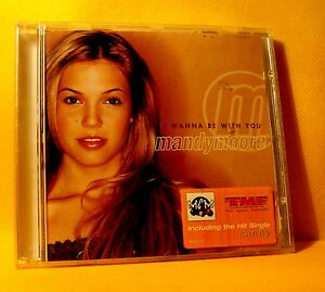 CD-Mandy-Moore-I-Wanna-Be-With-You-13-TR-2000-Hip-Hop-Pop-RnB